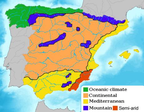 spanien wetter februar